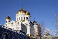 莫斯科 大教堂基督・莫斯科俄国救主 免版税库存图片