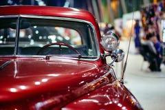 莫斯科- 2018年3月09日:在陈列老朋友的推托轿车1950年 库存图片