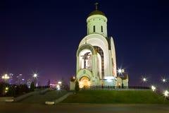 莫斯科 1360年教会设立了乔治的st是年的修道院vladychny serpukhov 库存图片