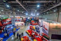 莫斯科- 2016年10月05日:农业陈列 库存照片