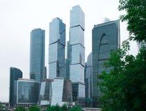 莫斯科-2016年8月04日:莫斯科城市 商务中心国际莫斯科 库存图片