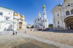 莫斯科- 6月04 :伊冯伟大的钟楼,克里姆林宫, Ru 图库摄影