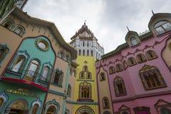 莫斯科- 6月04 :文化娱乐复杂克里姆林宫在Izma 免版税库存图片