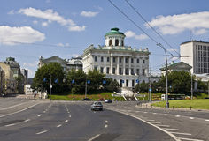 莫斯科,状态俄国图书馆(Pashkov议院) 免版税库存照片
