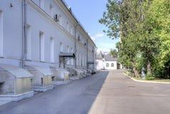 莫斯科 校园救护车Sklifosovsky 免版税库存照片