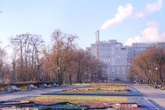 莫斯科 正方形 秋天 免版税图库摄影