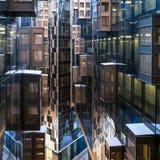 莫斯科建筑学 免版税库存图片