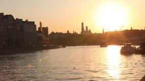 莫斯科 莫斯科河 股票视频