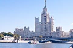 莫斯科 都市风景 库存图片