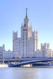 莫斯科 都市风景 免版税库存照片