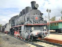 莫斯科 铁路运输博物馆  免版税图库摄影