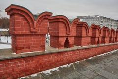 莫斯科- 15 04 2017年:克里姆林宫,冬时 图库摄影