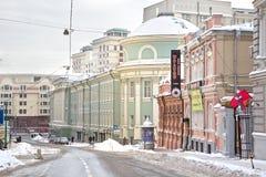 莫斯科 Bolshaya Dmitrovka 免版税图库摄影