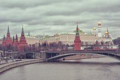 莫斯科 izmailovo克里姆林宫视图 免版税库存图片