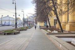 莫斯科 Mokhovaya街道 库存图片