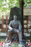莫斯科 Novodevichy公墓 一般A坟墓  我 利伯特号 免版税库存照片
