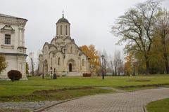 莫斯科 Spaso-Andronikov修道院 免版税图库摄影