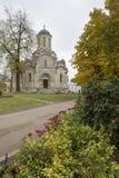 莫斯科 Spaso-Andronikov修道院 库存照片