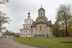 莫斯科 Spaso-Andronikov修道院 库存图片