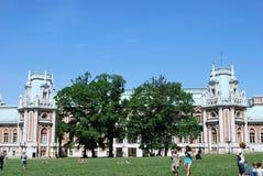 莫斯科 Tsaritsyno公园 库存照片