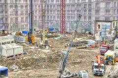 莫斯科 Zaryadye 建筑 库存照片