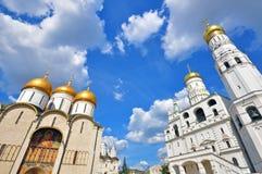 莫斯科churchs,俄罗斯 免版税库存照片