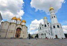 莫斯科churchs 免版税库存照片