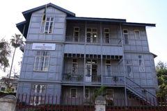 莫桑比克马普托议院埃菲尔住处做耶老岛 免版税库存图片