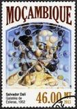 莫桑比克- 2013年:由萨尔瓦多・达利显示球形的Galatea, 1952年, 1904-1989 库存照片