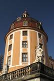 莫里茨堡城堡的塔 库存照片