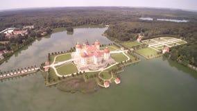 莫里茨堡宫殿-飞行在宫殿 影视素材