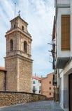 莫雷利亚castlein西班牙 免版税库存照片