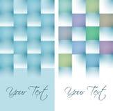 莫代尔在3d摘要构思设计的卡片模板 图库摄影