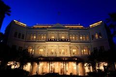 莱佛士酒店新加坡 图库摄影