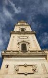 莱切大教堂塔,意大利 图库摄影