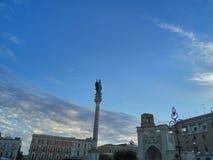 莱切,意大利 免版税库存照片