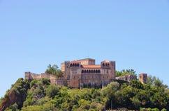 莱利亚城堡 库存图片
