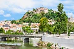 莱利亚城堡 免版税库存图片
