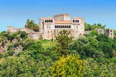 莱利亚城堡 库存照片