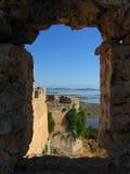 莱夫卡斯州,城堡3 免版税库存照片