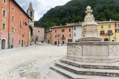 莱奥内萨(意大利列蒂,意大利) 库存照片