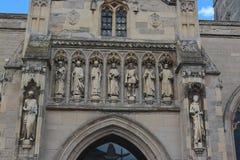 莱斯特大教堂 免版税库存照片