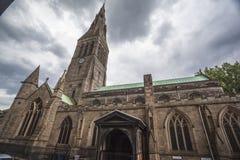 莱斯特大教堂 库存图片