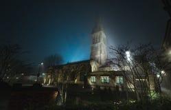 莱斯特大教堂 免版税库存图片
