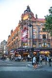 莱斯特广场,伦敦 免版税库存照片