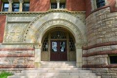 莱曼霍尔,布朗大学,上帝, RI,美国 库存照片