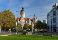 莱比锡新的Townhall 免版税图库摄影