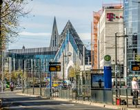 莱比锡,萨克森,德国- 2017年10月21日:对被恢复的看法 库存图片