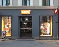莱维s商店在奥斯陆 免版税库存图片