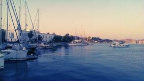 莱罗斯岛海岛在希腊 免版税库存图片
